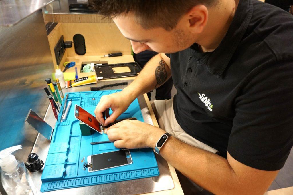 emploi réparateur smartphones